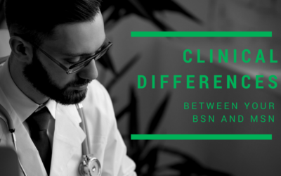 Clinical Differences between your BSN and MSN – Guest Post