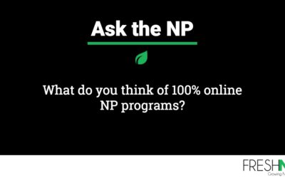 What do you think of 100% online NP programs?