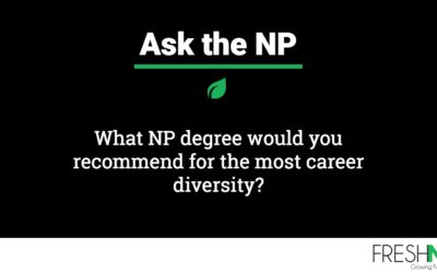 What NP degree would you recommend for the most career diversity?